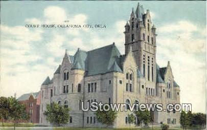 Court House - Oklahoma City Postcards, Oklahoma OK Postcard