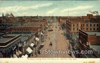 Broadway - Oklahoma City Postcards, Oklahoma OK Postcard