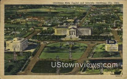 Oklahoma State Capitol  - Oklahoma City Postcards Postcard