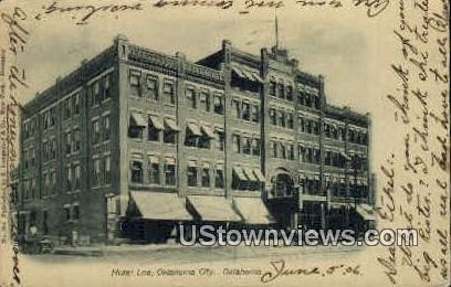 Hotel Lee - Oklahoma City Postcards, Oklahoma OK Postcard
