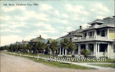 16th Street  - Oklahoma City Postcards, Oklahoma OK Postcard
