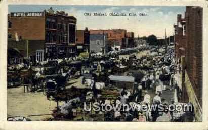 City Market - Oklahoma City Postcards, Oklahoma OK Postcard