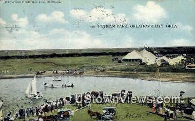 Putnam Park - Oklahoma City Postcards, Oklahoma OK Postcard