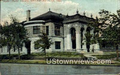 Public Library - Oklahoma City Postcards, Oklahoma OK Postcard