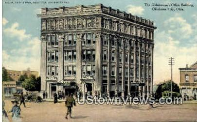The Oklahoman's Office Building - Oklahoma City Postcards Postcard