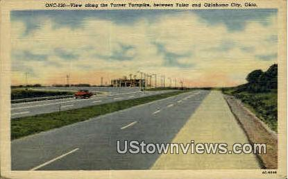 Turner Turnpike - Oklahoma City Postcards, Oklahoma OK Postcard
