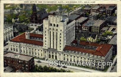 Post Office - Oklahoma City Postcards, Oklahoma OK Postcard