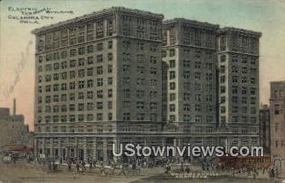 Electric Terminal Building - Oklahoma City Postcards, Oklahoma OK Postcard