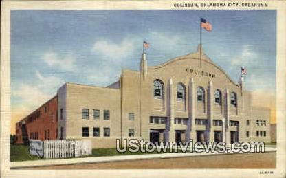 Coliseum - Oklahoma City Postcards, Oklahoma OK Postcard