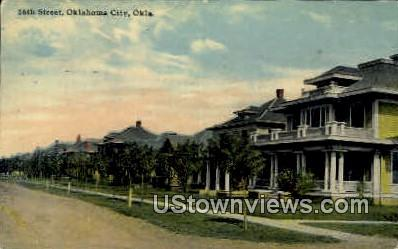 16th Street  - Oklahoma City Postcards, Oklahoma OK Postcard