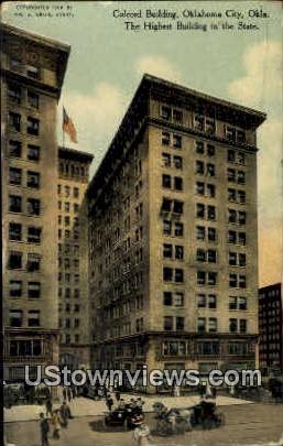 Colcord Building - Oklahoma City Postcards, Oklahoma OK Postcard