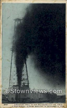 Oklahoma City Oil Field - Oklahoma City Postcards Postcard