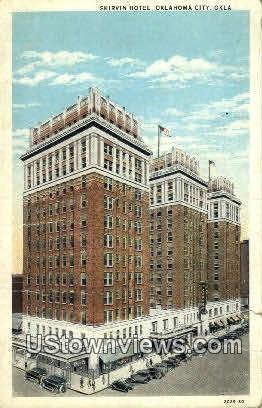 Skirvin Hotel - Oklahoma City Postcards, Oklahoma OK Postcard