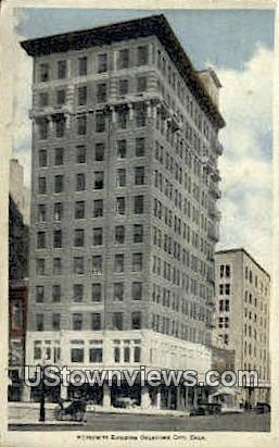 Herskowitz Building - Oklahoma City Postcards, Oklahoma OK Postcard