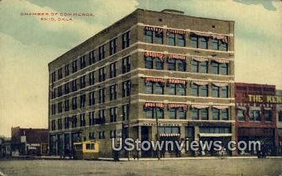 Chamber of Commerce - Enid, Oklahoma OK Postcard
