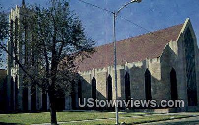 First Methodist Church - Enid, Oklahoma OK Postcard