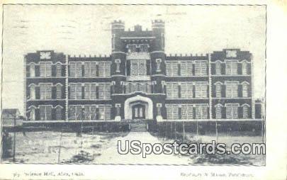 Science Hall - Alva, Oklahoma OK Postcard