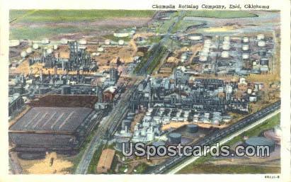 Champlin Refining Company - Enid, Oklahoma OK Postcard