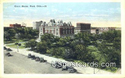 Court House - Enid, Oklahoma OK Postcard