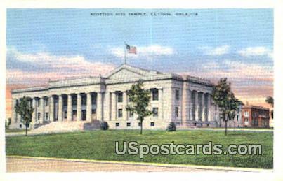 Scottish Rite Temple - Guthrie, Oklahoma OK Postcard