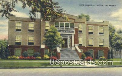 Reid Hospital - Altus, Oklahoma OK Postcard