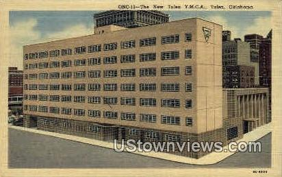 The New Tulsa Y.M.C.A - Oklahoma OK Postcard
