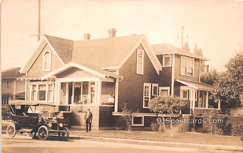 Family Residence - Albany, Oregon OR Postcard