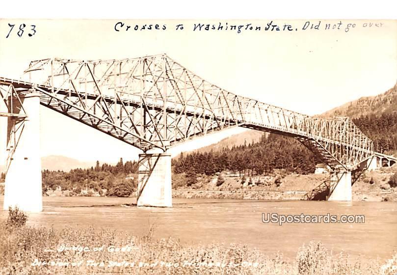 Bridge of Gods - Bonneville, Oregon OR Postcard