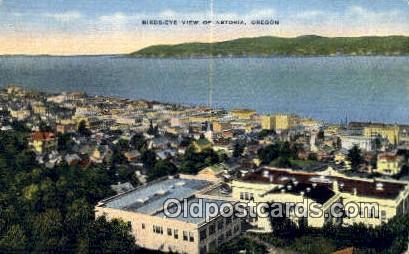 Astoria, OR  ;      :      Astoria, Oregon Postcard