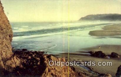Cannon Beach - Columbia River, Oregon OR Postcard