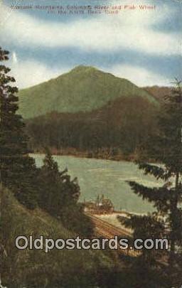 Cascade Mountains - Columbia River, Oregon OR Postcard