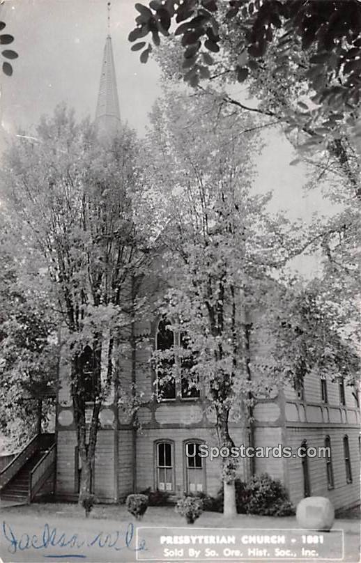 Presbyterian Church - Grants Pass, Oregon OR Postcard