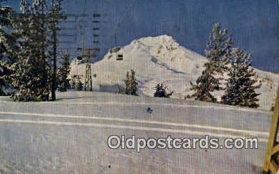 Ski Lift, Timberline Lodge - Portland, Oregon OR Postcard