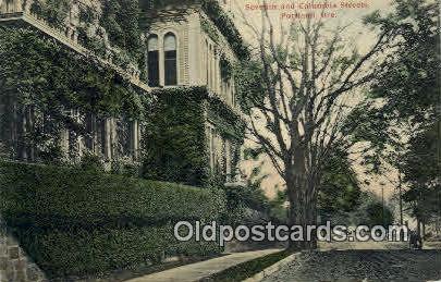 Seventh & Columbia Streets - Portland, Oregon OR Postcard