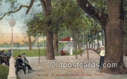 The Oaks, Amusement Resort - Portland, Oregon OR Postcard