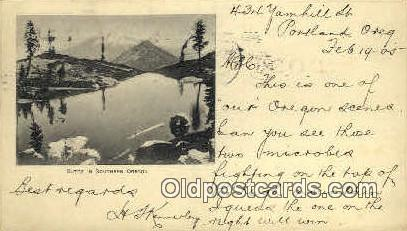 Butte - Portland, Oregon OR Postcard