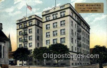 The Bowers - Portland, Oregon OR Postcard
