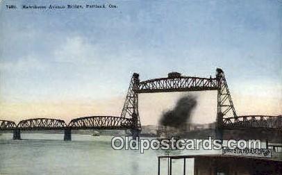 Hawthorne Ave Bridge - Portland, Oregon OR Postcard