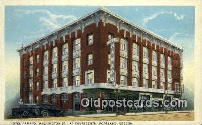 Hotel Ramapo - Portland, Oregon OR Postcard