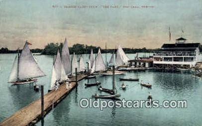 Oregon Yacht Club - Portland Postcard