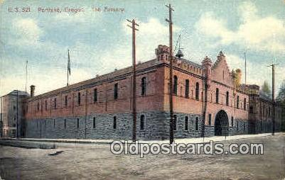 The Armory - Portland, Oregon OR Postcard