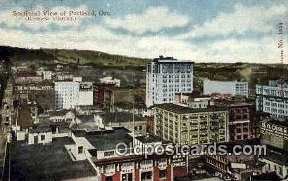 Portland, OR  ;      :      Portland, Oregon Postcard