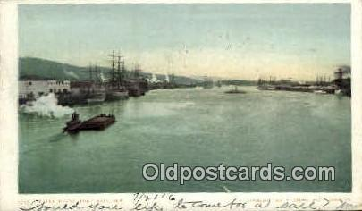 Water Front - Portland, Oregon OR Postcard