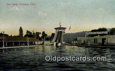 The Oaks - Portland, Oregon OR Postcard