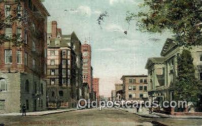 Sixth Street - Portland, Oregon OR Postcard