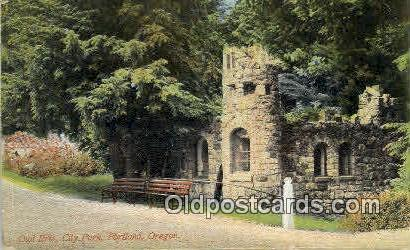 Owl Erie, City Park - Portland, Oregon OR Postcard