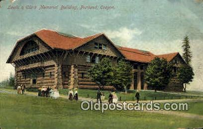Lewis & Clark Memorial Bldg - Portland, Oregon OR Postcard