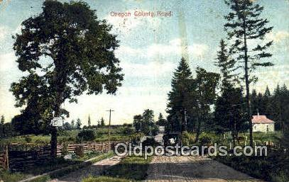 Oregon County Road - Misc Postcard