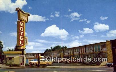 Imperial 400 Motel - Portland, Oregon OR Postcard
