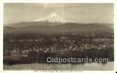 Hood River - Mt Hood, Oregon OR Postcard